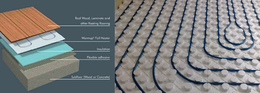 Underfloor Heating Section
